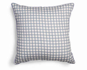 Cushion  cover Grey and White Spots Fair Trade