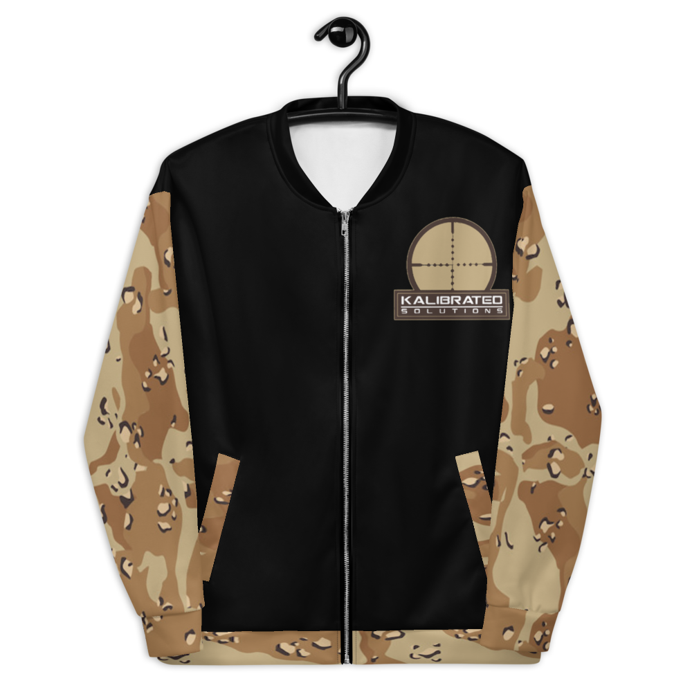 Chocolate Chip Bomber Jacket