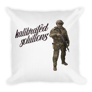 Dual sided Throw Pillow (square)
