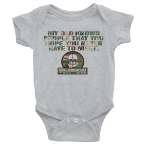 It's All About Who You Know Infant Bodysuit