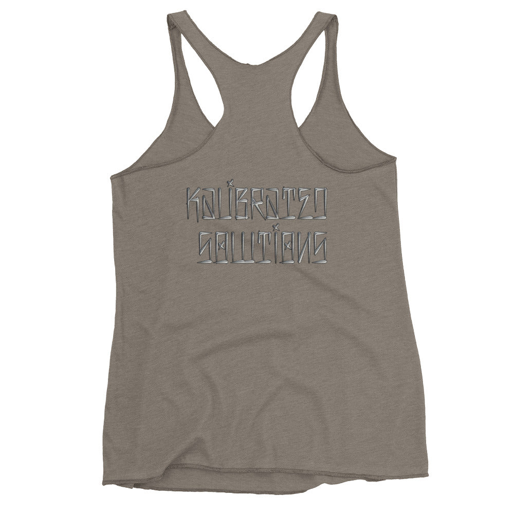 Shoot First Women's Racerback Tank
