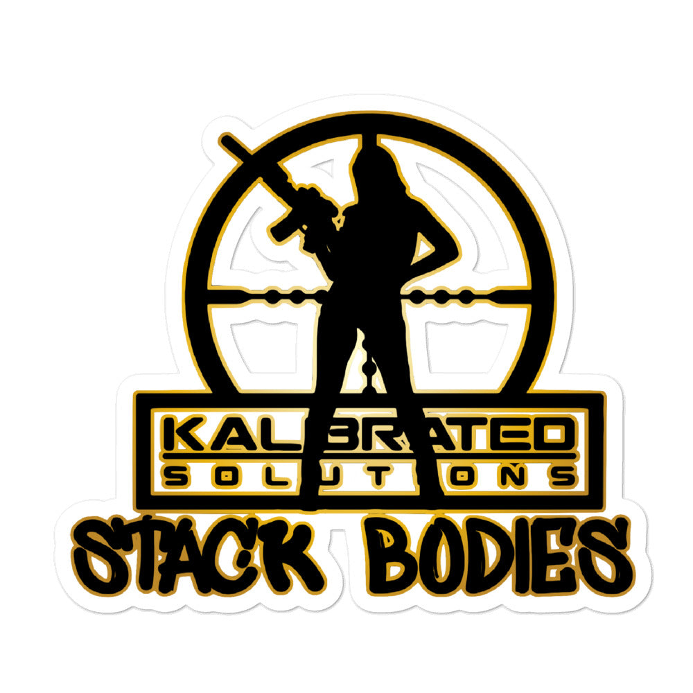 Female Body Stacker Stickers