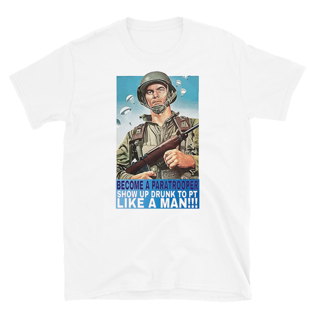 Become A Paratrooper T-Shirt