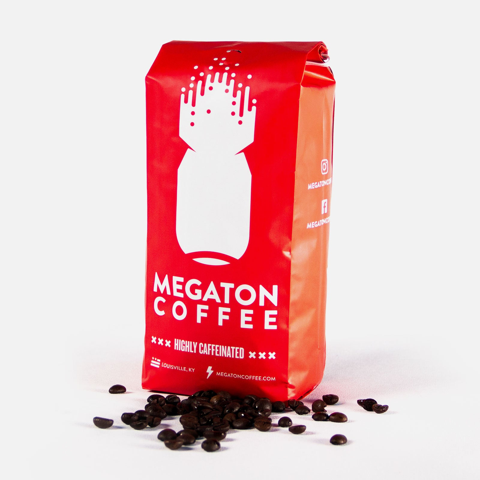 Megaton Coffee | Premium Roast | High Caffeine |