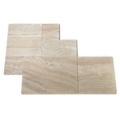 Philadelphia French Set Travertine Tile-Travertine Tiles-Stone and Rock