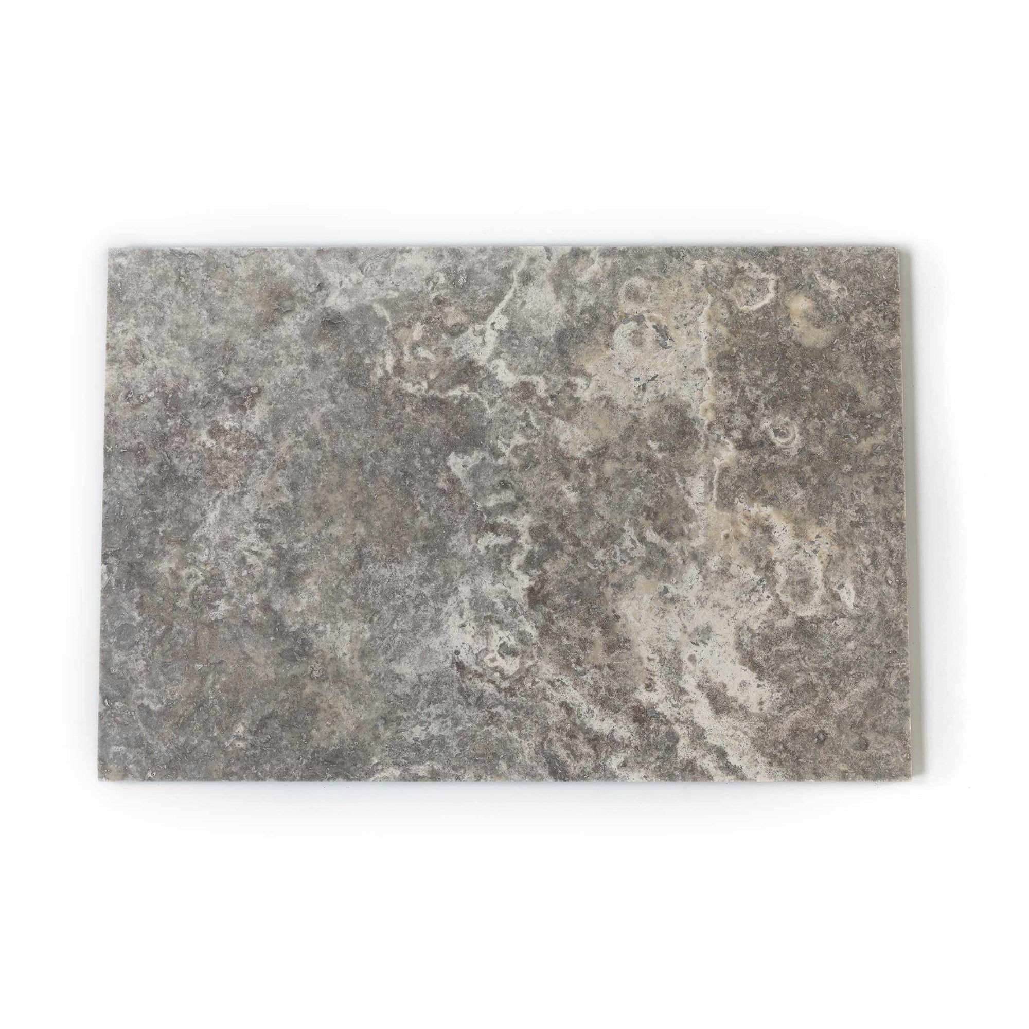 Silver Premium Grade 610x406 mm Travertine Tile