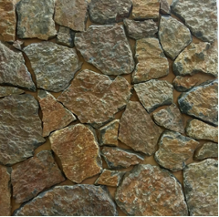 Natural Free Form Loose Stone Feature Wall Cladding - Rustic Quartzite