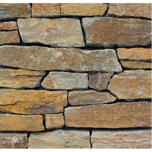 Natural Loose Stone Feature Wall Cladding Strips - Rustic Quartzite