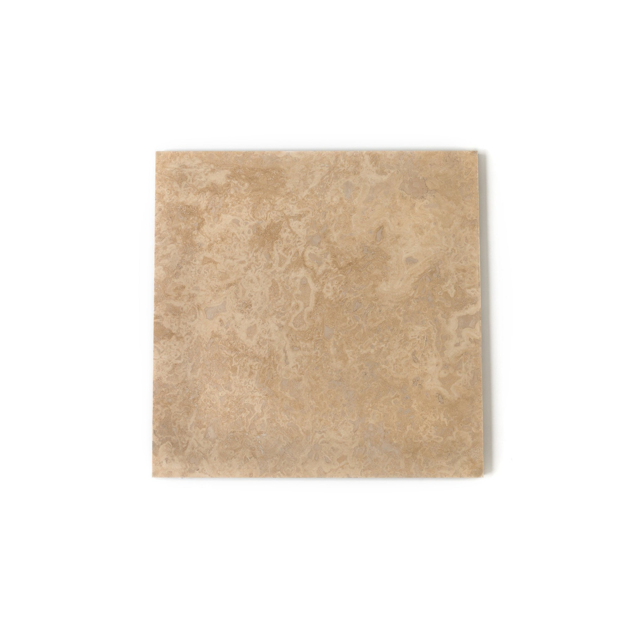 Classic Cream 406x406mm Travertine Tile