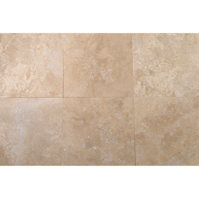 Classic Cream 400x400mm Travertine Tile-Travertine Tiles-Stone and Rock