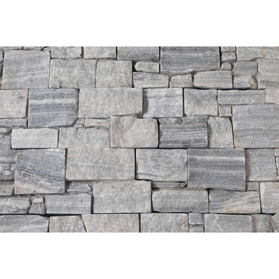 Natural Ledgestone Feature Wall Cladding Panels - Cloudy Grey-Wall Cladding-Stone and Rock