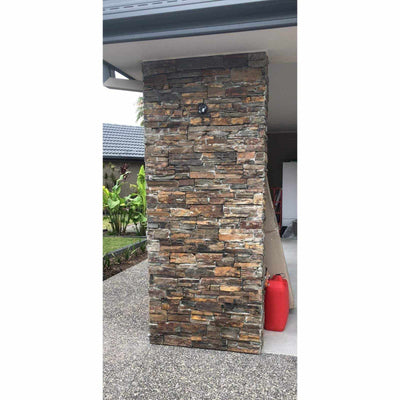 Natural Ledgestone Feature Wall Cladding Panels - Slate-Wall Cladding-Stone and Rock