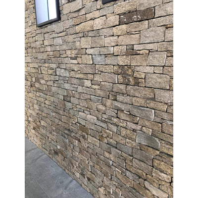 Natural Ledgestone Feature Wall Cladding Panels - Tiger Skin-Wall Cladding-Stone and Rock