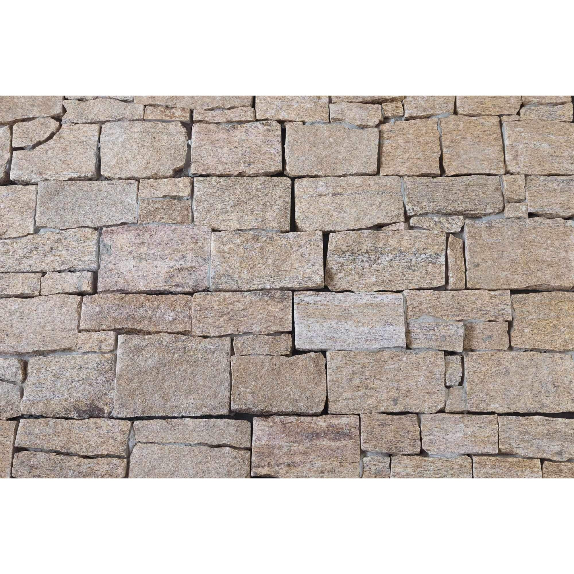 Natural Ledgestone Feature Wall Cladding Panels - Tiger Skin