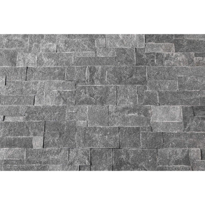 Natural Stacked Stone Feature Wall Cladding Panels - Galaxy Black Montage-Wall Cladding-Stone and Rock