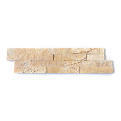 Natural Stacked Stone Feature Wall Cladding Panels - Miami Sandstone-Wall Cladding-Stone and Rock