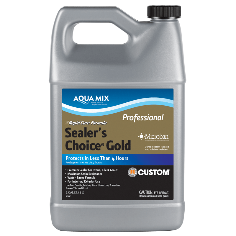 Sealer's Choice® Gold – Rapid Cure - Aqua Mix®-Natural Look Sealers-Stone and Rock