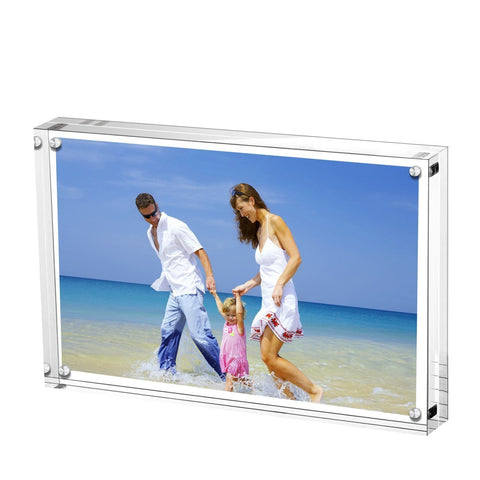 Clear Double Sided Magnetic Picture Frame