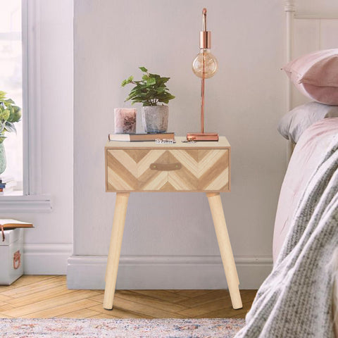 Klare Bedside Table