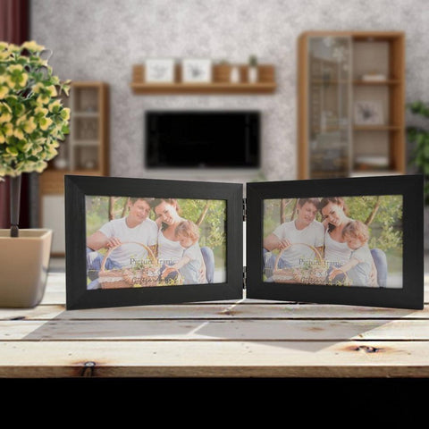 "Double Photo Frame - 6"" x 4"""