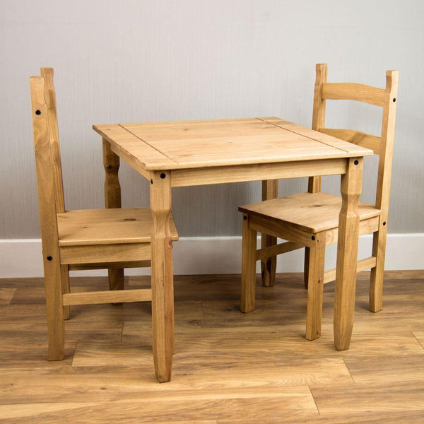 Solid Pine 2 Seat Kitchen Table