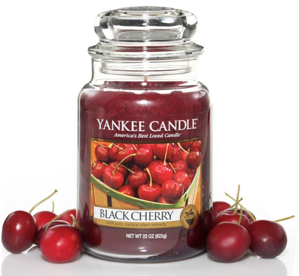 22oz Black Cherry Yankee Candle