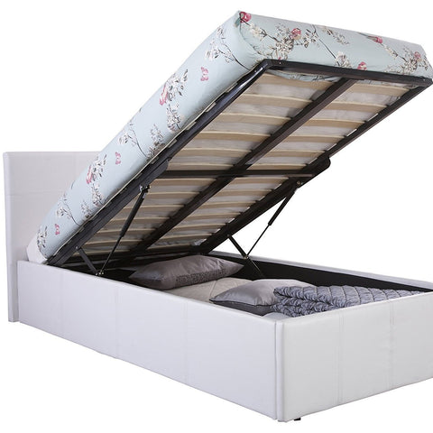 Single Deep Storage Lift Up Bed