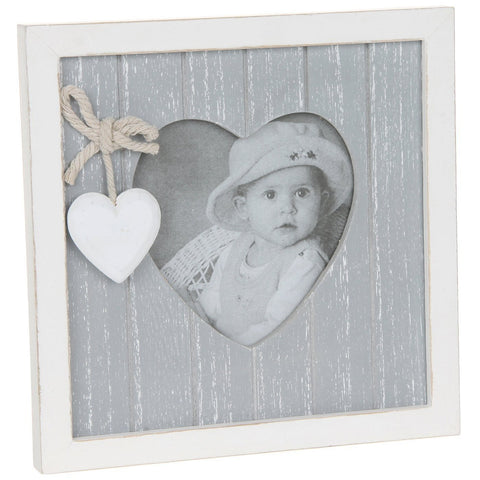 Grey Shabby Chic Photo Frame