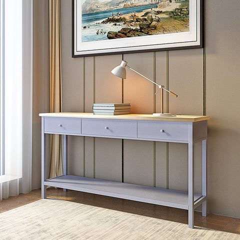 Silk Grey Console Table