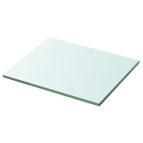 Clear Panel Glass Shelf - 20 x 25 cm