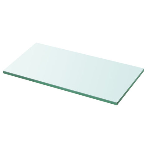 Clear Panel Glass Shelf - 30 x 30 cm