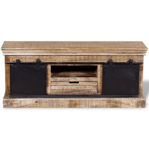 Solid Mango Wood TV Cabinet
