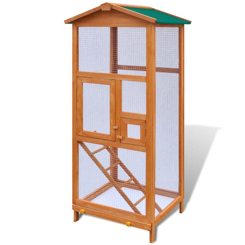 Outdoor Wooden Large Bird Cage