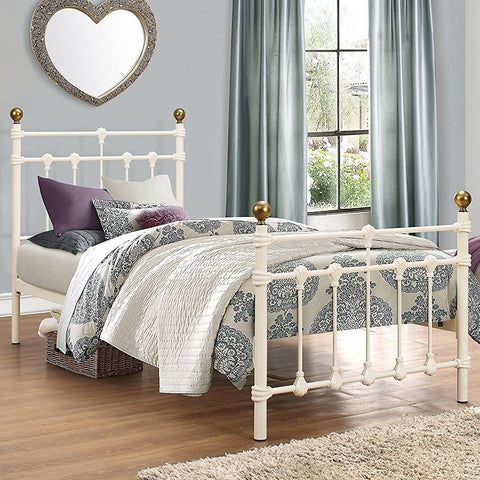 Oxford Single Metal Bed Frame