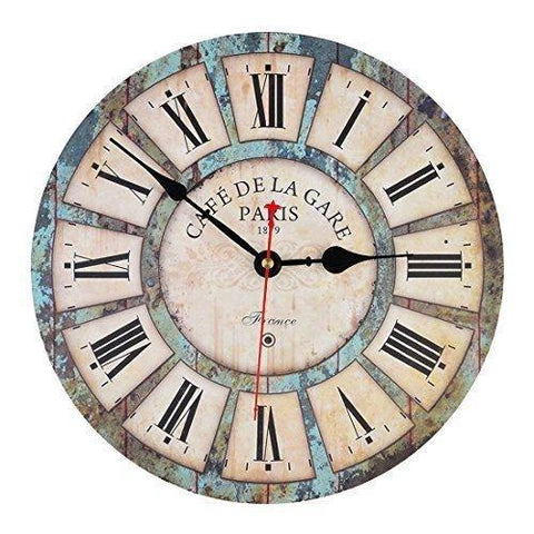 Paris Cafe Wall Clock