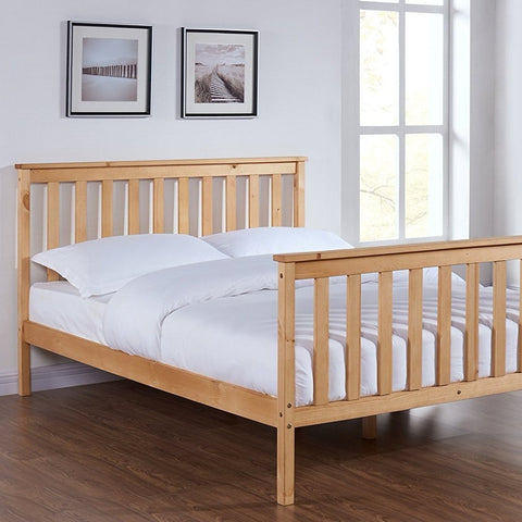 Solid Pine King Bed Frame