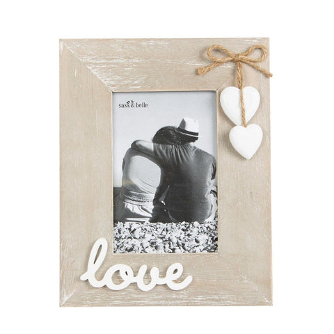 Wooden Love Photo Frame