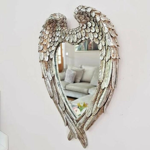 Angel Wings Wall Mirror