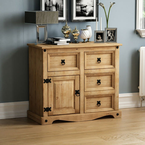 Solid Pine Wood Cabinet