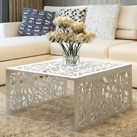 Aluminium Geo Coffee Table