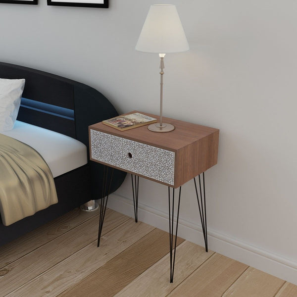 Aztec Bedside Table