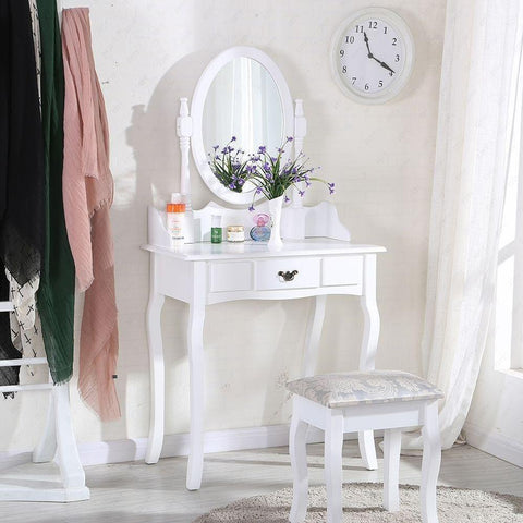 Vintage Chic Dressing Table