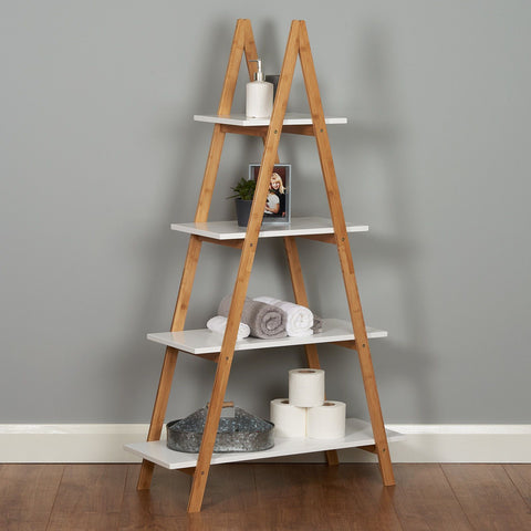 4 Tier Pyramid Shelves