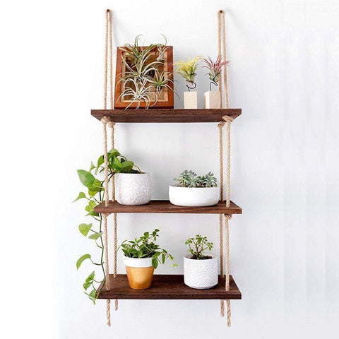 Rope Ladder Shelves