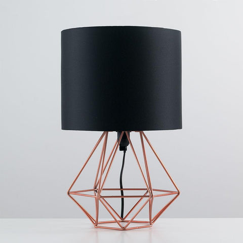 Copper Geo Lamp