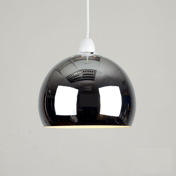Chrome Domed Light Shade