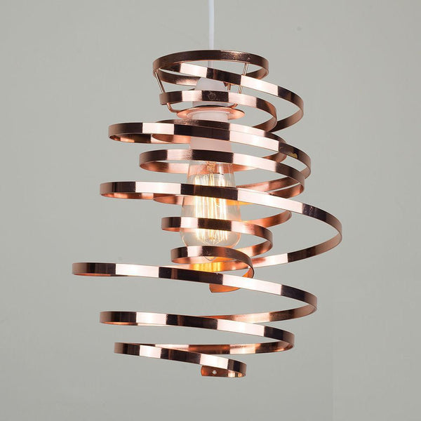 Metal Swirl Light Shade