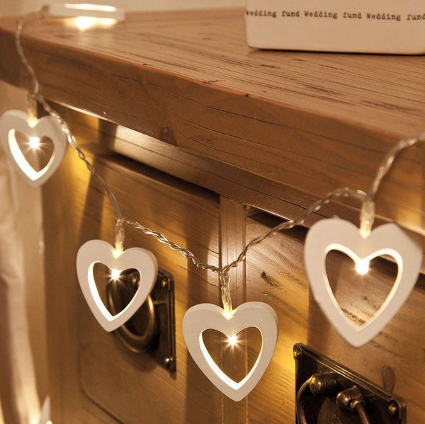 Wooden LED Fairy Lights