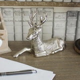 Metal Stag Ornament