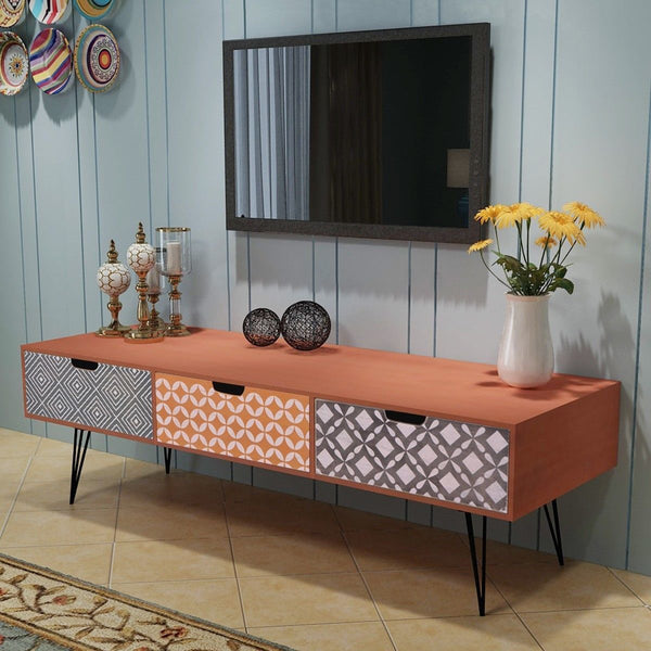 Contemporary Aztec TV Unit